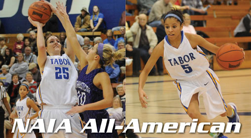 Janelle Rust Third Team All-American