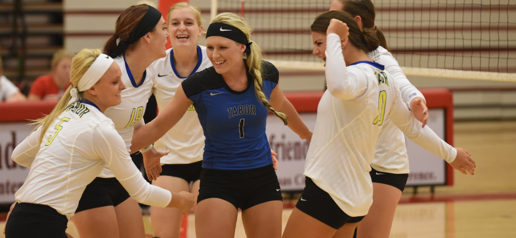 Tabor College - Volleyball headed to Texas for 1st round match-up