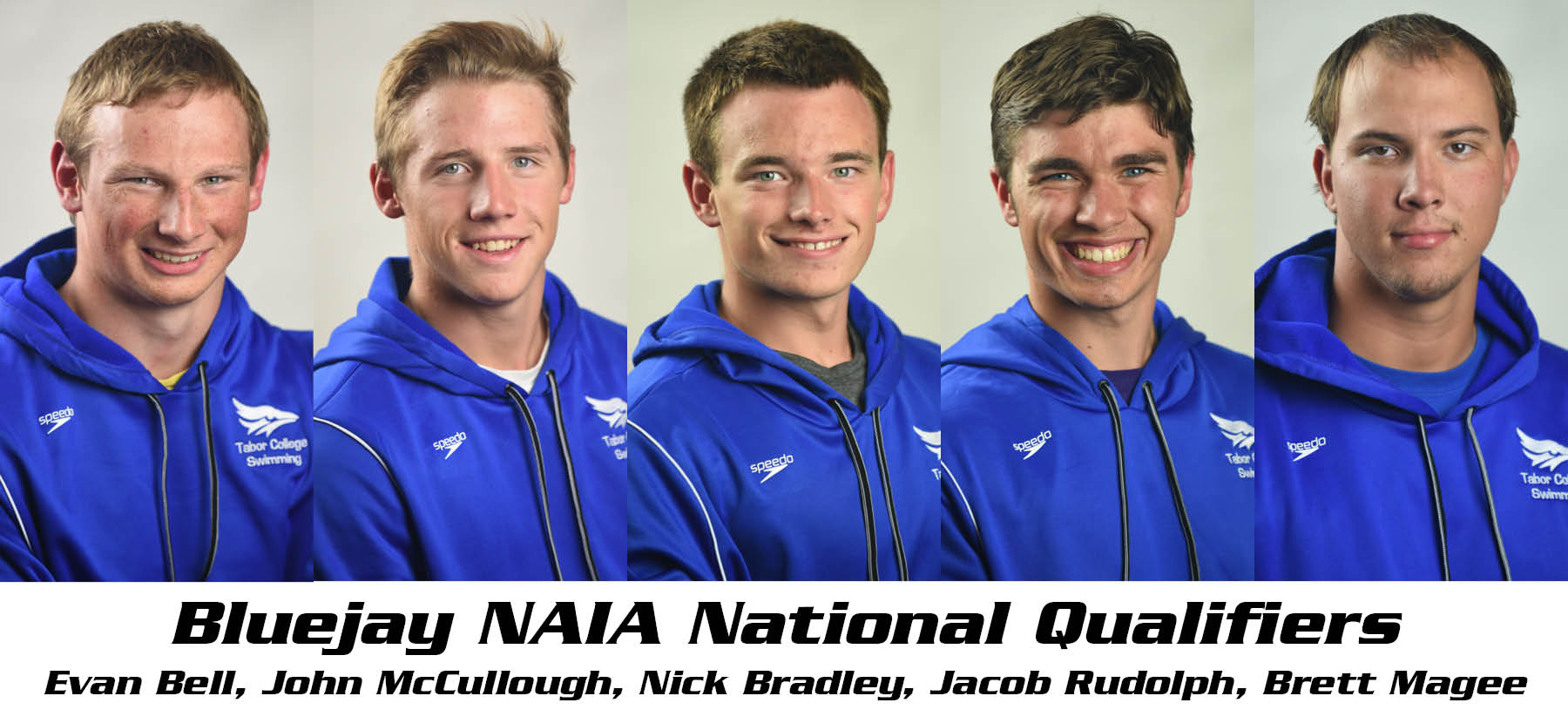 Bluejay Swimmer National Qualifiers