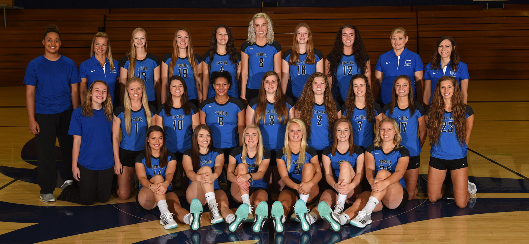 Tabor College - Volleyball takes home KCAC tourney championship